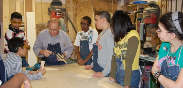 wood shop middle school